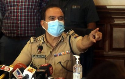 Inspector submits corruption complaint against Param Bir Singh