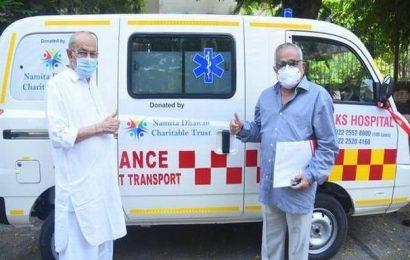 Mumbai man donates ambulance