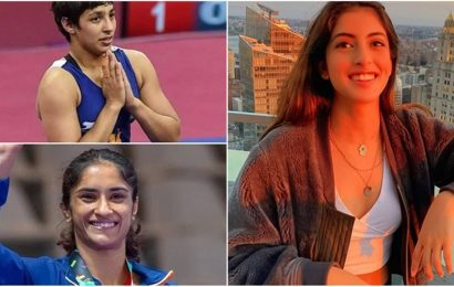 Navya Nanda celebrates Indian women at Asian Wrestling Championships, gives shout out to Sarita Mor, Vinesh Phogat and others