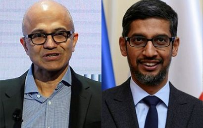 Pichai, Nadella support India's fight against COVID-19