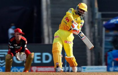 Ravindra Jadeja smashes Harshal Patel for record-equalling 37 runs in an over