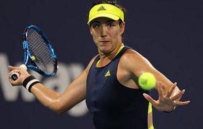 Tennis | Muguruza pulls out of Madrid Open with leg injury
