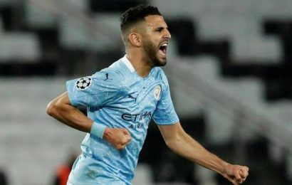 UEFA Champions League | Mahrez grabs winner as Man City come from behind to beat 10-man PSG