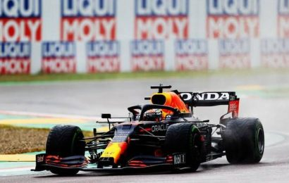 Verstappen wins chaotic race in Imola