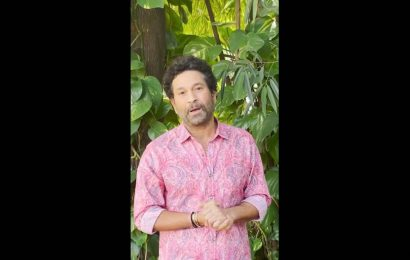 Watch: Sachin Tendulkar urges fans to donate plasma on his 48th birthday