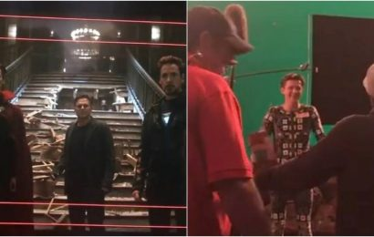 When Robert Downey Jr surprised Tom Holland on Thanos' home planet: Russo Brothers share Avengers Infinity War BTS