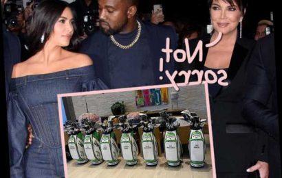 Kris Jenner Delivers Subtle Kanye Dig With Family Easter Present – But Kim's Still Showing (Some) Support!