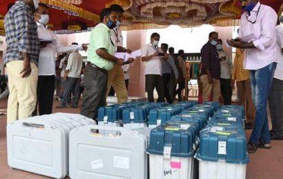 EVMs, ballot units sent to poll booths