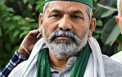 Rakesh Tikait's convoy attacked in Rajasthan