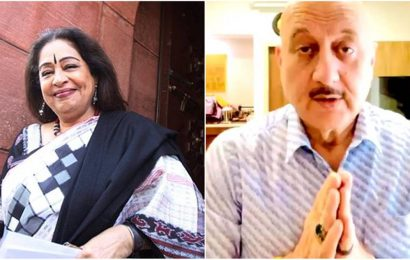 Anupam Kher thanks fans for their concern and best wishes for Kirron Kher: 'Your love has made us stronger'