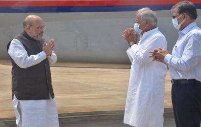 Bastar attack: Amit Shah reaches Chhattisgarh, to hold high-level meeting