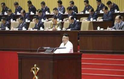 Kim says North Korea facing its 'worst-ever situation'