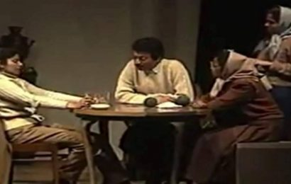 When Irrfan Khan starred with wife Sutapa Sikdar in a play, watch video