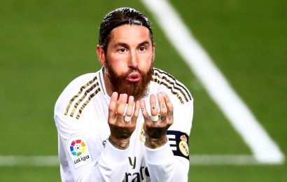 Sergio Ramos injured before Real Madrid faces Liverpool and Barcelona