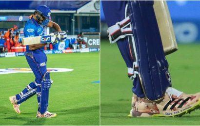 IPL 2021: Rohit Sharma bats for 'Save the Rhino' in Mumbai Indians' opener