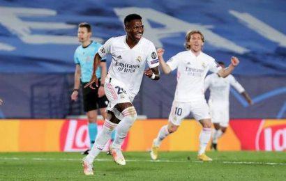 Champions League   Madrid beats Liverpool 3-1 in 1st leg of quarterfinals