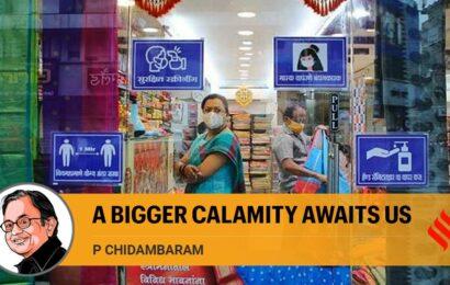 A bigger calamity awaits us