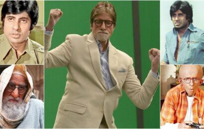 Amitabh Bachchan looks back at his 52 years in films: 'Still wondering how it all went by'