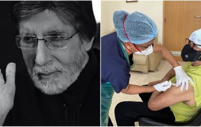 Amitabh Bachchan takes second Covid-19 vaccination shot, writes about relief work: 'Delivered 10 ventilators, 50 oxygen concentrators on the way'