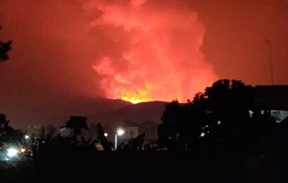 As Mount Nyiragongo erupts, Indians join thousands fleeing Goma to Rwanda and an uncertain future