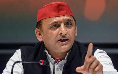 BJP issuing threats to elected panchayat members: Akhilesh Yadav