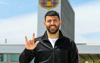 Barcelona sign Sergio Aguero from Man City