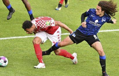 Bundesliga: Hertha Berlin returns from quarantine to draw at Mainz 1-1