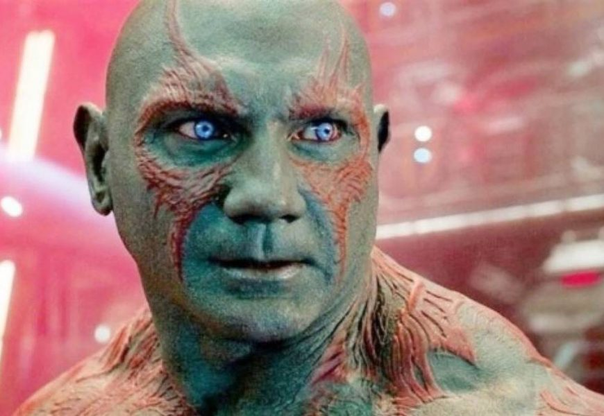 Dave Bautista on playing Drax in Guardians of the Galaxy: 'The shirtless thing is getting harder and harder for me'