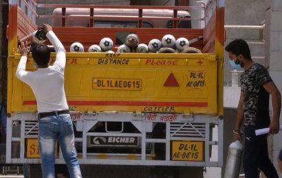 Delhi gets 555 MT oxygen against demand of 976 MT