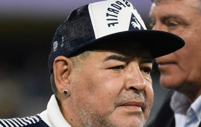 Diego Maradona Undergoes Emergency Brain Surgery, Doc Declares It A Success