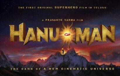 Director Prasanth Varma's next Telugu film is 'Hanu-Man'