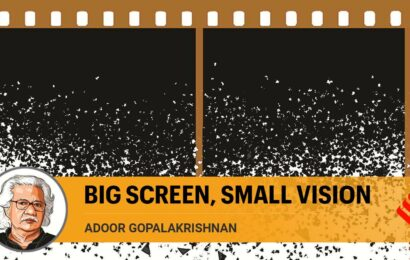 Government must see that cinema is art, not just entertainment
