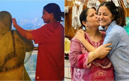 Hina Khan shares emotional post for mother after father's demise: 'I will look after you, wipe your tears'