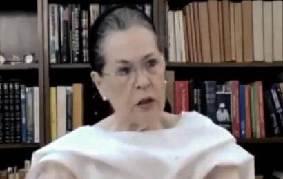 India sinking under Modi govt.'s incompetence and indifference, says Sonia