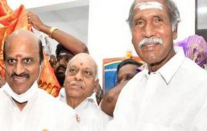 K. Lakshminarayanan's name proposed as Puducherry pro-tem Speaker