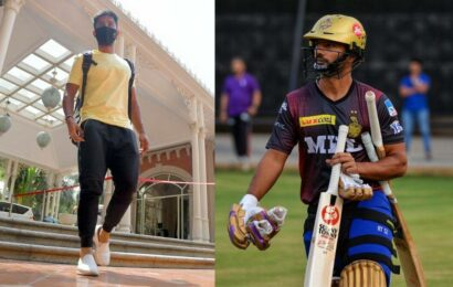 KKR's Rahul Tripathi fined for not wearing mask during lockdown