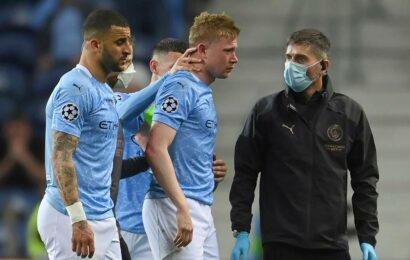 Kevin de Bruyne doesn't need surgery, set to join Belgium squad