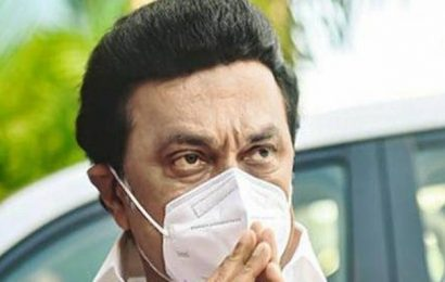 M.K. Stalin launches 130 oxygen beds in Saidapet for COVID management