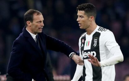 Massimiliano Allegri to replace Andreas Pirlo as Juventus coach, say reports