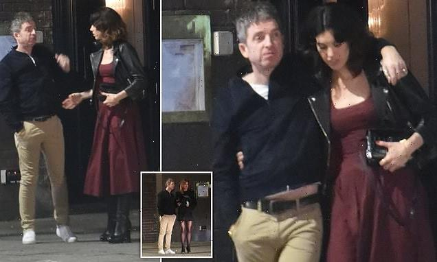 Noel Gallagher enjoys a VERY boozy 54th birthday and parties until 3am