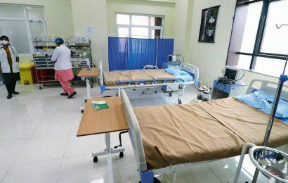 Nurses at NESCO jumbo centre protest over lack of facilities