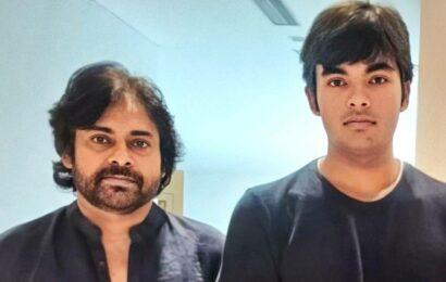 Pawan Kalyan's latest photo with son Akira Nandan goes viral