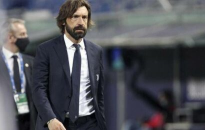 Pirlo leaves Juventus after disappointing year in charge