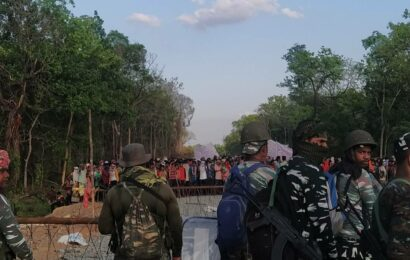 Protests against security camp in Chhattisgarh's Silger area enters 15th day