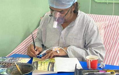 Punjab artist who painted even while in ICU dies of post-Covid complications