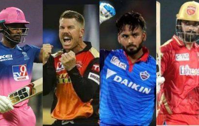 RR vs SRH, PBKS vs DC Predicted Playing 11, IPL 2021 Live Updates: Rajasthan's middle order struggling