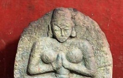 Rare sculptures of Rani Rudrama Devi unearthed