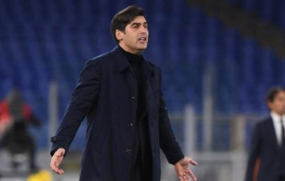 Roma head coach Paulo Fonseca to leave at end of season