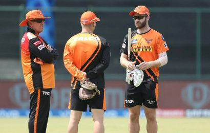 SRH have a number of leaders, it's vital we stay tight: Williamson on Warner