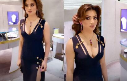 Seen Urvashi's safety pin dress?